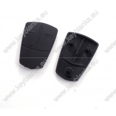 Opel 2 button rubber pad