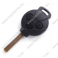 SMART 3 button remote key shell with CIT-1.P blade