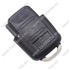 VW 3 button remote case
